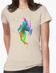 Watercolor Shark Womens T-Shirt