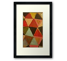 Tri Force Framed Print