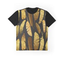 - Golden feathers - Graphic T-Shirt