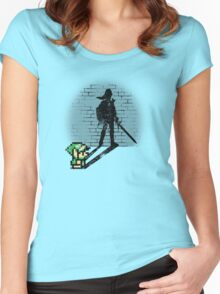 Becoming a Legend - Link Women's Fitted Scoop T-Shirt