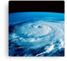 Eye of Hurricane Elena in the Gulf of Mexico. Canvas Print