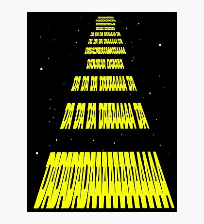 Phonetic Star Wars Photographic Print
