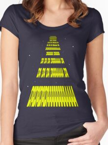 Phonetic Star Wars Women's Fitted Scoop T-Shirt