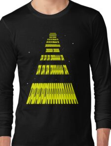 Phonetic Star Wars Long Sleeve T-Shirt