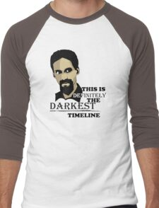 The Darkest Timeline Men's Baseball ¾ T-Shirt