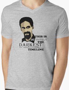 The Darkest Timeline Mens V-Neck T-Shirt