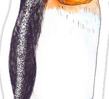 Penguin Dreaming of Aquatica Sticker