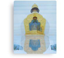 Buddhist Temples Canvas Print