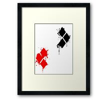 HarleyQuinn Framed Print