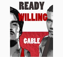ready willing gable Unisex T-Shirt