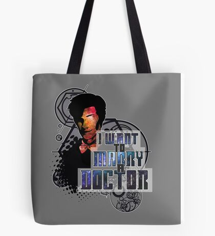 Marry a Doctor Smith Tote Bag