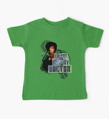 Marry a Doctor Smith Baby Tee