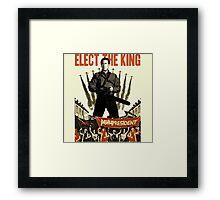 elect the king ash vs evil dead  Framed Print