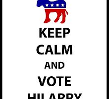 Vote Hilarry by josephdunn