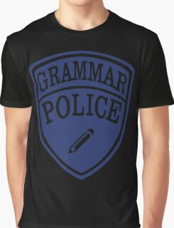 Grammar Police Graphic T-Shirt
