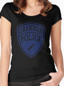 Grammar Police Women's Fitted Scoop T-Shirt