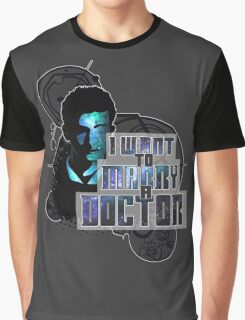 Marry a Doctor Tennant Graphic T-Shirt