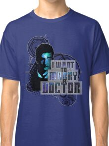 Marry a Doctor Tennant Classic T-Shirt