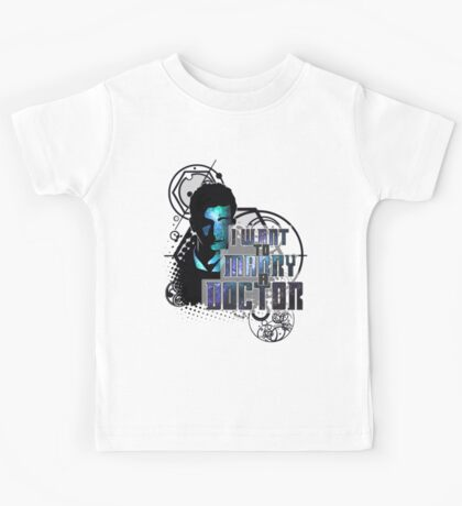 Marry a Doctor Tennant Kids Tee