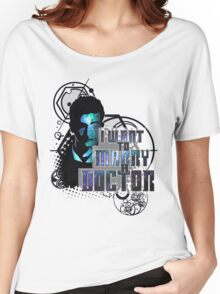 Marry a Doctor Tennant Women's Relaxed Fit T-Shirt