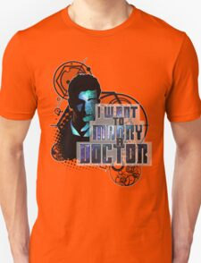 Marry a Doctor Tennant Unisex T-Shirt
