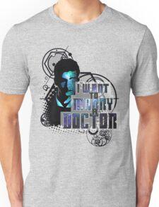 Marry a Doctor Tennant Unisex T-Shirt