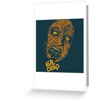 the evil dead ash Vs evil dead Greeting Card