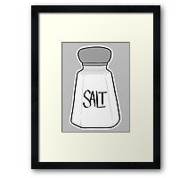 Salt Shaker Framed Print