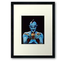 Genie's Lamp Framed Print