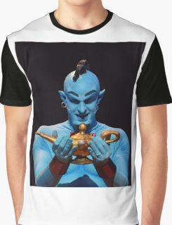 Genie's Lamp Graphic T-Shirt