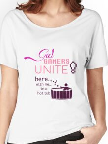Girl Gamers Unite! Women's Relaxed Fit T-Shirt