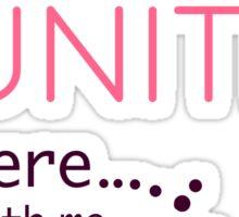 Girl Gamers Unite! Sticker