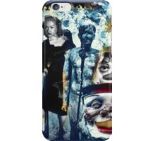 Cracked Man in Funhouse of the Uncanny iPhone Case/Skin