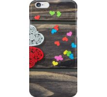 Valentines day hearts concept iPhone Case/Skin