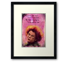Steve Brule Valentine Framed Print