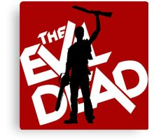 the evil dead ash vs evil dead Canvas Print