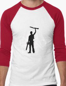 the evil dead ash vs evil dead Men's Baseball ¾ T-Shirt