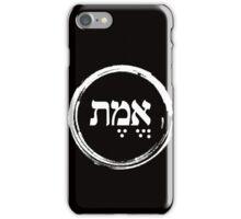 The Hebrew Set: EMET (=Truth) - Light iPhone Case/Skin