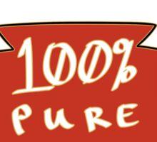 100% Pure Salt Sticker
