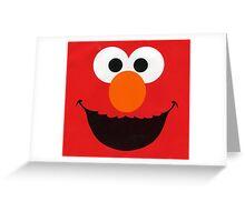 Cute Elmo Greeting Card