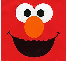 Cute Elmo Photographic Print