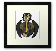 Luna - Contemplation Framed Print