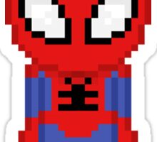 Pixel Spider-man Sticker