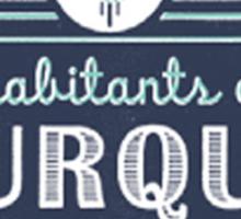 Inhabitants of Burque T-Shirt Sticker