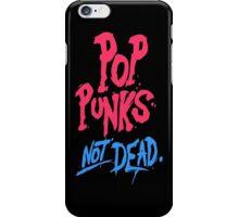Pop Punk Not Dead - Colourfull iPhone Case/Skin