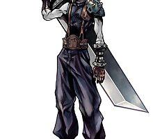 Cloud Strife Final Fantasy VII/Super Smash Bros by klonoamario95