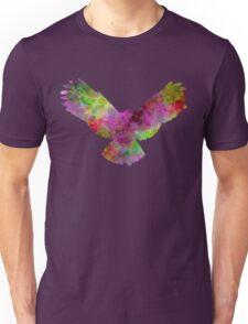 Owl 02 in watercolor Unisex T-Shirt