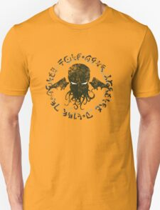 In his house at R'lyeh dead Cthulhu waits dreaming T-Shirt