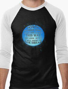A Crystal - reworked Men's Baseball ¾ T-Shirt