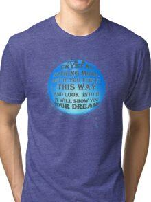 A Crystal - reworked Tri-blend T-Shirt